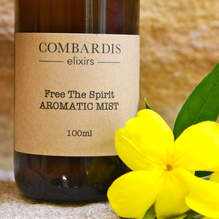 Free The Spirit essential oil mist