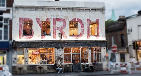 Byron - Angel. The burgers are very tasty and reasonably priced. I see myself as a traditional burger connoisseur and what I like about Byron is that they keep their burgers simple, cooked medium unless asked otherwise