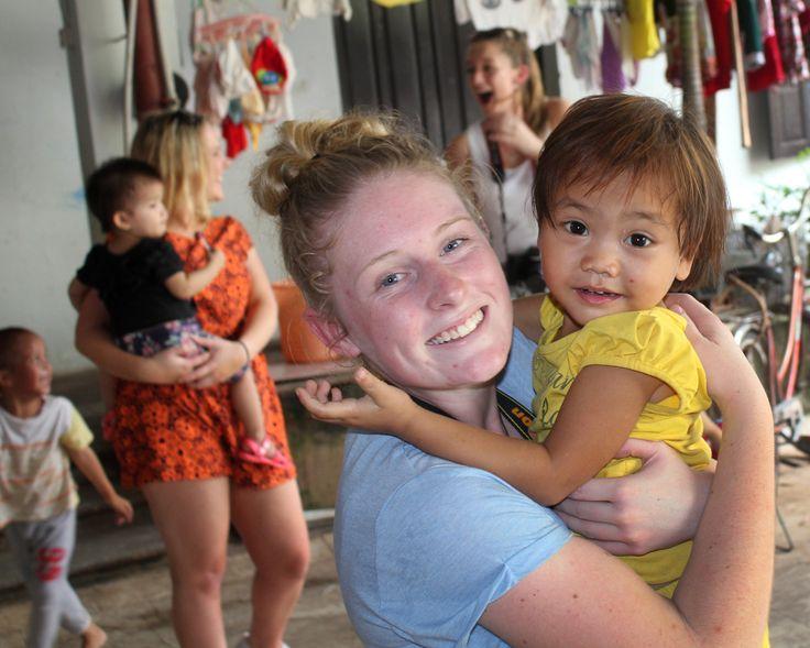 Sharing a cuddle. #Pagoda #Orphanage #Children