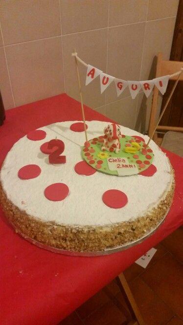 Torta di compleanno Pimpa