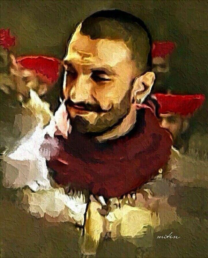 Ranveer Singh S Malhari Song Portrait From Bajirao Mastani