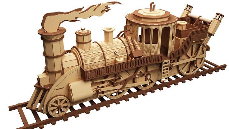 Professor Feather's Time Train - Steam Punk