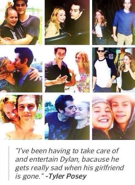Dylan O'Brien and Britt Robertson are adorable #Brylan