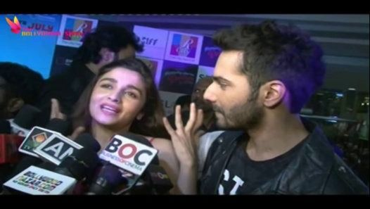 "Varun Dhawan & Alia Bhat promoting their upcoming film ""Humpty Sharma Ki Dulhania"". The film is going to be releasing on 11 July 2014.Be the first one to catch all the news and exciting happenings in the world of Bollywood.Join Us on Facebookhttp://www.facebook.com/pages/The-Bollywood-Show/267307240024991Follow Us on Twitter - https://twitter.com/#!/DaBollywoodShowDownload our Mobile apps from  : http://www.kihisoft.com"