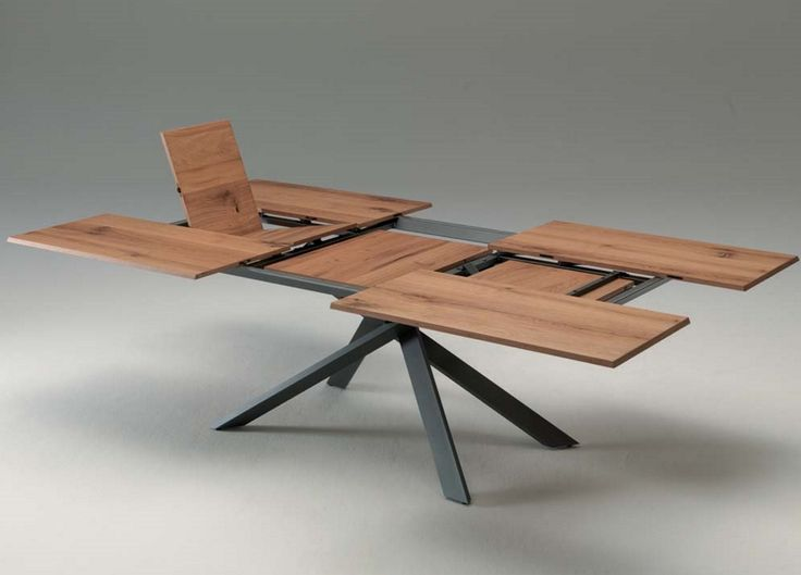 Ozzio 4x4 Extending Dining Table