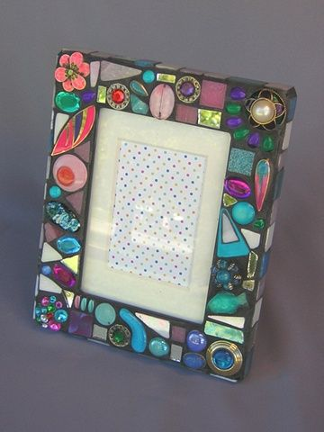 recycled jewelry frame - Mosaic Frames
