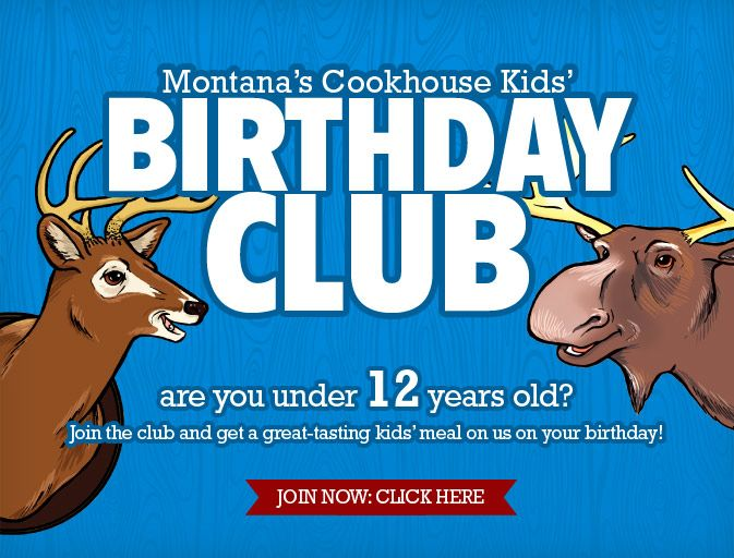 Tuesdays and on kids' birthday