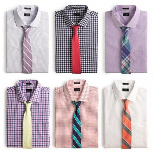 J Crew colors Mens Shirt And Tie, Suit And Tie, Suit Fashion, Mens Fashion, Shirt Tie Combo, Shirt And Tie Combinations, Moda Formal, Mens Attire, Men Style Tips