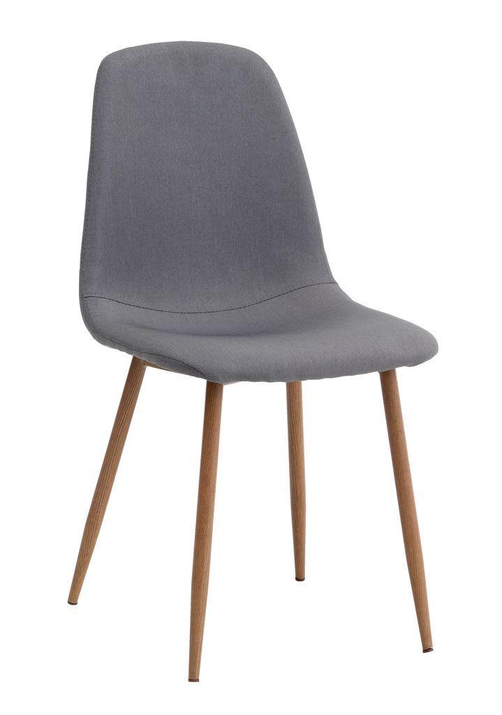 Krzesło JONSTRUP szary/dąb | JYSK
