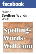 Spelling Words Well Facebook badge
