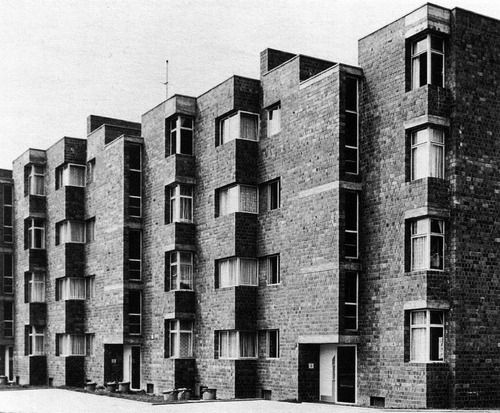OSWALD MATHIAS UNGERS - MFH MAUENHEIMERSTRASSE, KÖLN  1959