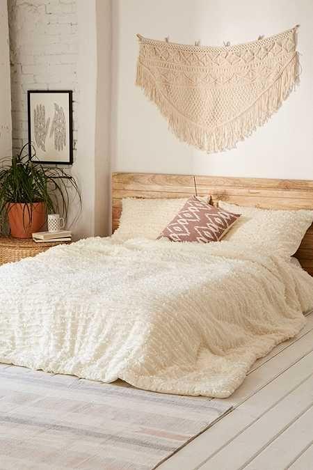 Eyelash Fringe Comforter