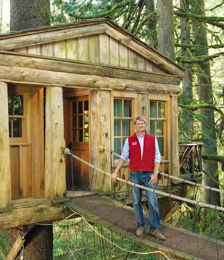 pete nelson of treehouse masters