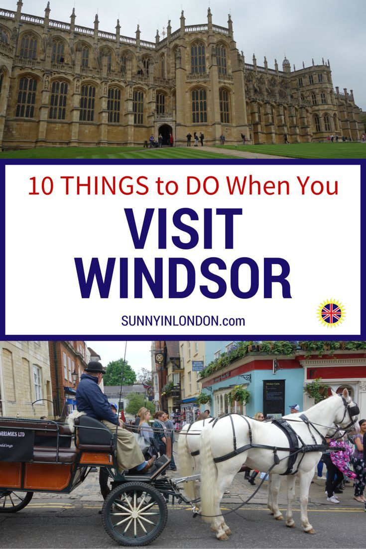Planning a trip to Windsor? This is a guide with more than 10 things to do when you visit Windsor. It includes the castle, restaurants, pubs and other fun activities you must see on a day trip from London or Weekend in Windsor.