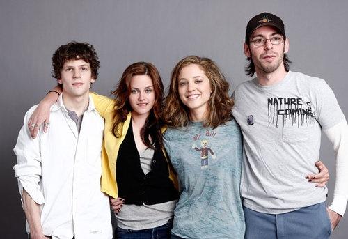 Kristen with the Adventureland gang