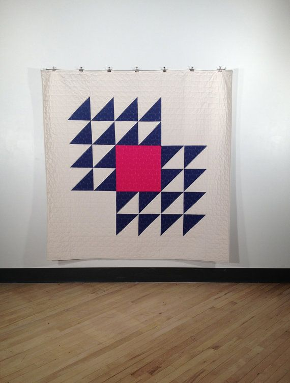 Fly Away a PDF modern quilt pattern in two by HeatherJonesStudio