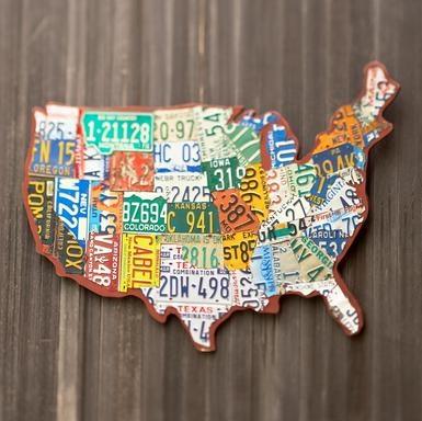 License Plate USA!