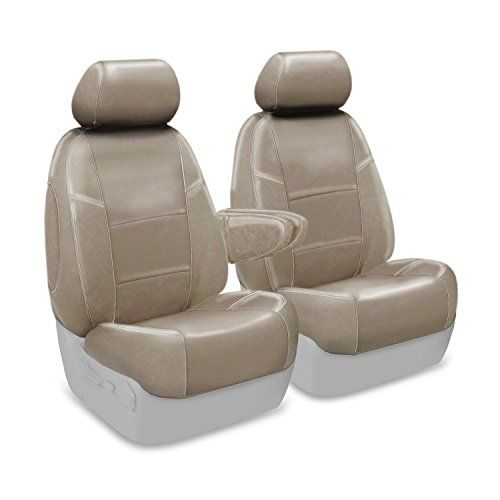Coverking Custom Seat Cover for Select Lexus RX Models  Premium Leatherette Taupe *** For more information, visit image affiliate link Amazon.com
