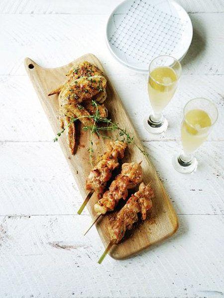 スパイスで旨み倍増! ふくよかな味わいのシャンパンとぜひ!|『ELLE a table』はおしゃれで簡単なレシピが満載!