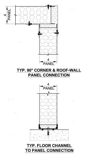 Drawing of Nois-eNvelope Panels