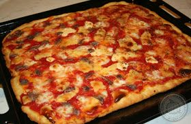 La zucca capricciosa: Pizza istantanea.. quando la voglia prende all'improvviso!!!