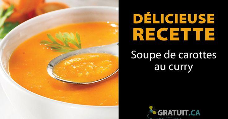 Cette soupe est rapide, facile et légère. Même les enfants qui n'aiment pas les carottes en raffolent ! Vous pouvez l'accompagner de coriandre hachée et d'un peu de crème.