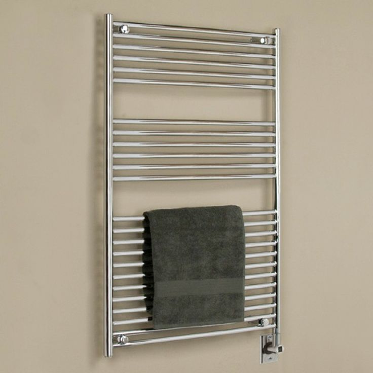 "Big Size Stainless Towel Warmer Heated Towel Rack: 30"" Bergama Extra-Tall Hardwired Towel Warmer"
