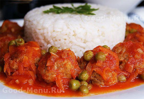 Тефтели в томатном соусе - рецепт
