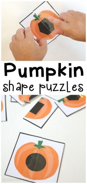 This free puzzle printable is a fun way to work on shape recognition with your toddler and/or preschooler.