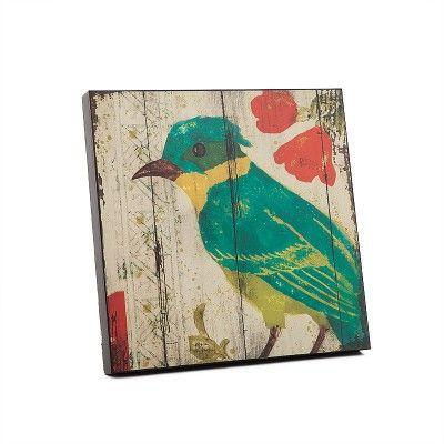 Mavi Kuşlu Eskitme Ahşap Duvar Panosu #evdebir #ev #dekorasyon #home #decor #decorative #mavi #kus #eskitme #ahsap #pano #blue #bird #old #wood #board #FabricedeVilleneuve #Design