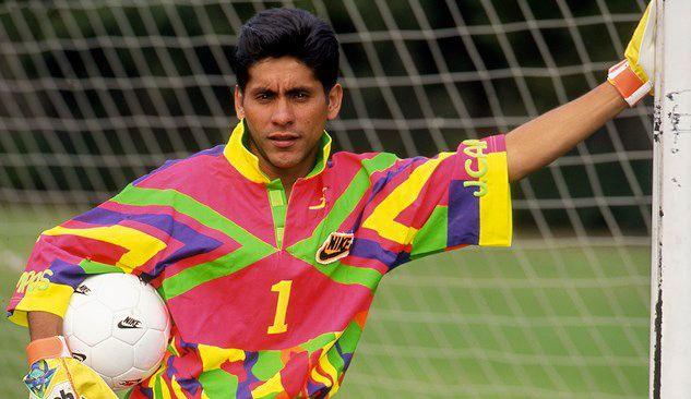 Jorge Campos Uniform Nike Sport Soccer Soccer Jersey Soccer