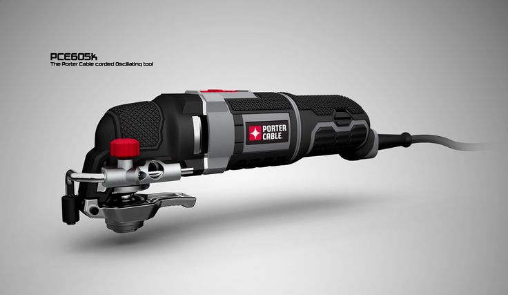 Porter Cable 3.0 Amp Oscillating tool on Behance