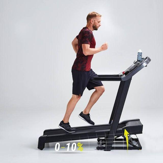جهاز المشي المنزلي للبيع على الأنترنيت في المغرب تخفيضات على مواقع البيع على الأنترنيت في المغرب Treadmill Gym Equipment Sports