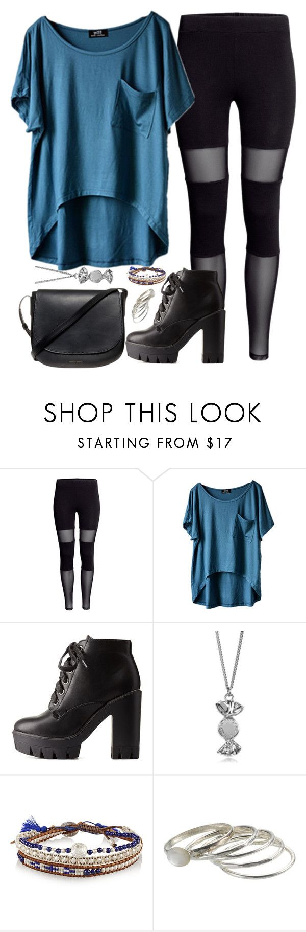 """""""You're the one who pollutes me./Eres tú la que me contamina."""" by rocketsheep ❤ liked on Polyvore featuring H&M, Charlotte Russe, Marc by Marc Jacobs, Chan Luu, Accessorize, Mansur Gavriel, spanish, lyrics and CD9"""