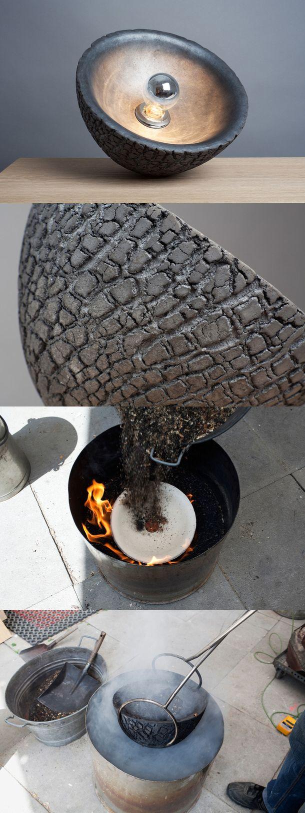 Дизайнер из Швейцарии Николас Керл придумал светильник Tortoise с оригинальной поверхностью, похожей на черепаший панцирь. #light #tortoise #design #nikolaskerl #editionnikolaskerl