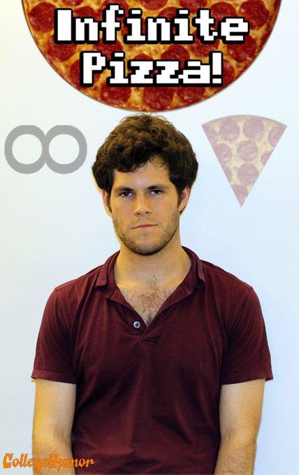 Infinite Pizza GIF - CollegeHumor Post