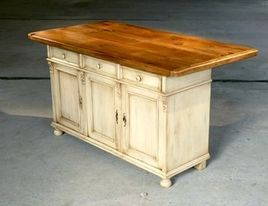 Country Kitchen Islands With Seating