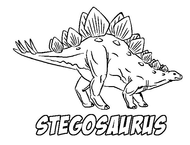 print coloring page and book stegosaurus coloring page for kids of all ages updated