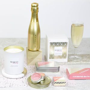 Large Prosecco Themed Pamper Hamper