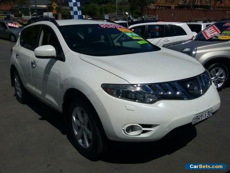 2009 Nissan Murano Z51 TI White Automatic A Wagon #nissan #murano #forsale #australia