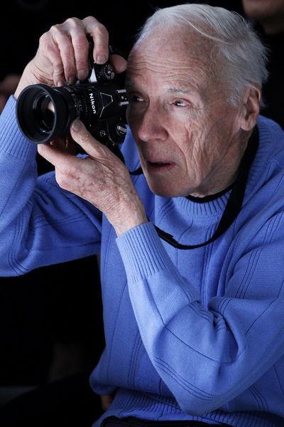 Le photographe new-yorkais Bill Cunningham, considéré comme l'inventeur du streetstyle