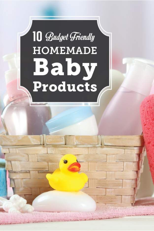 10 Budget Friendly Homemade Baby Products | The Best Natural DIY Skin Care Products For Children - Self Sufficiency And Self Reliance Skills by Pioneer Settler at http://pioneersettler.com/homemade-baby-products/