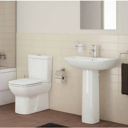 Vitra Toilet & Basin Suite. The Vitra Toilet & Basin Suite is one of the best suites money can buy. The Vitra range offers assured quality and style. Add a matching bath to complete the suite. http://www.dealsonbathrooms.co.uk/vitra-toilet-basin-suite.html#.VA66svmwJKU