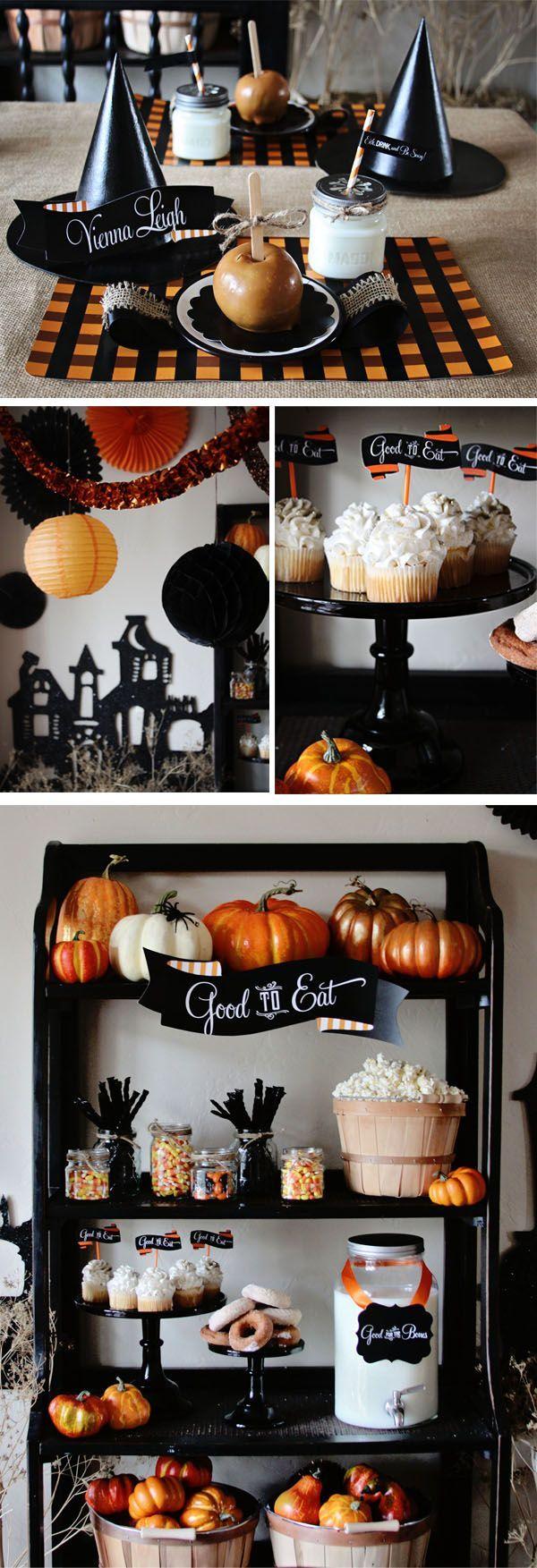 Halloween decorations, FOCUS : la ginguette d'Halloween. #halloween2017 #halloweendecorations #halloweenparty