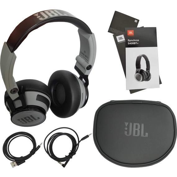 JBL Synchros S400BT+ Bluetooth Wireless On-Ear Stereo Headphones