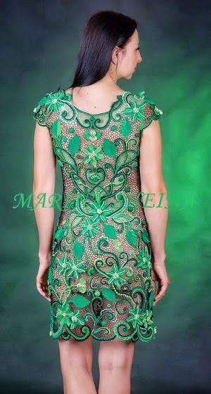 Beautiful Irish crochet dress