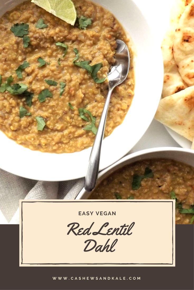 Red lentil dahl