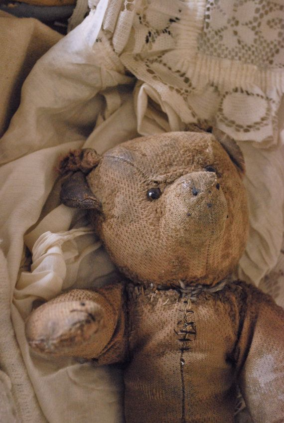 old french teddy bear by paperskyco on Etsy, $105.00 i've been really loved, but still have more love for the right little boy or girl.: