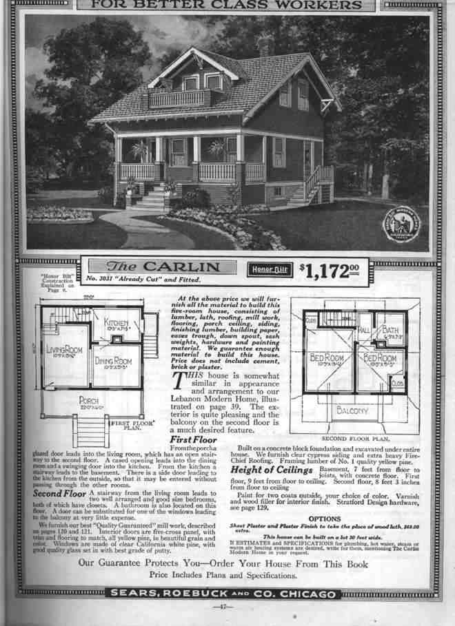images about Sears kit homes on Pinterest   Kit Homes  House    Sears Catalog House The Carlin