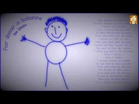 Pour dessiner un bonhomme, Anne Sylvestre - YouTube